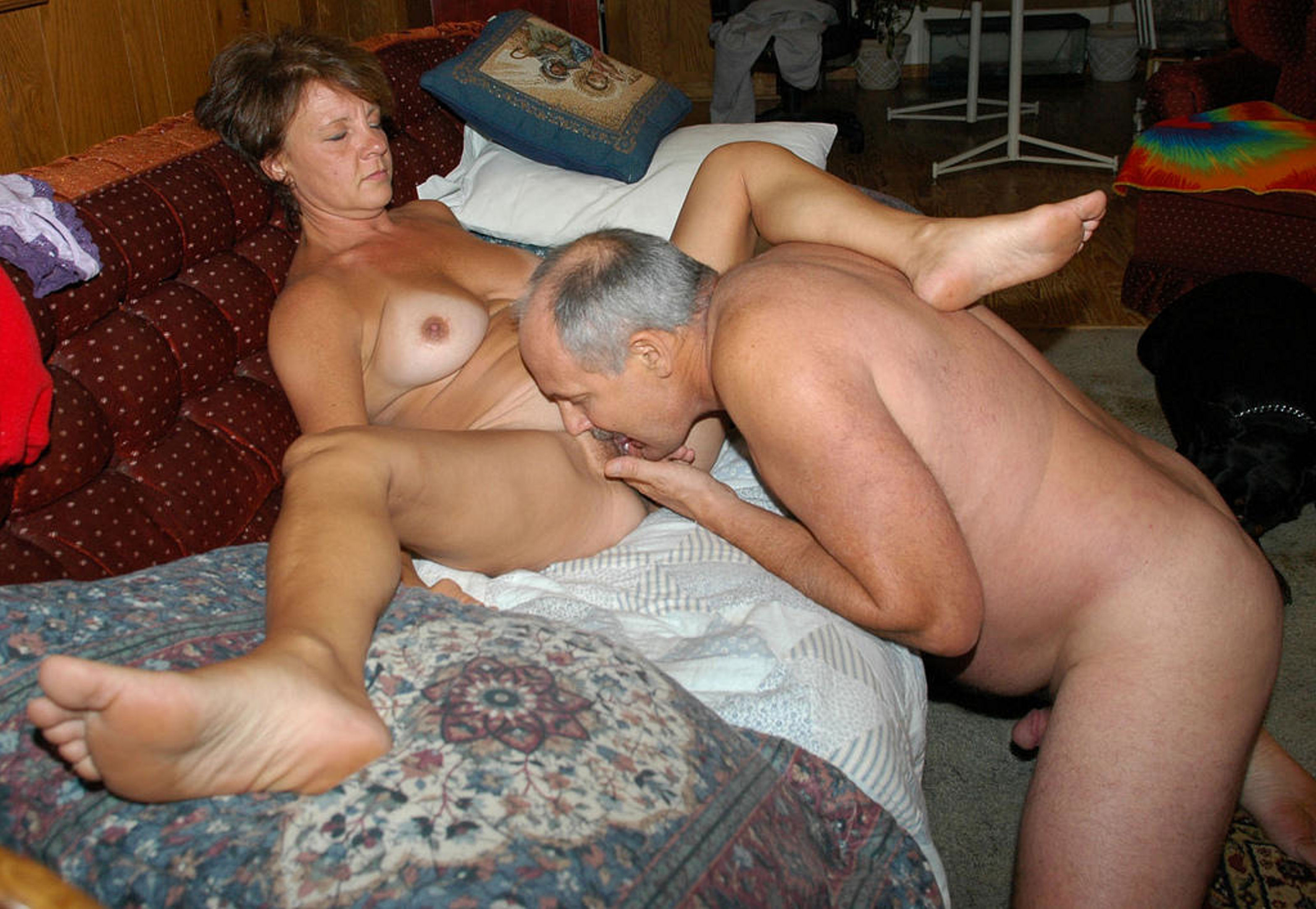 Old couple nude Amateur Mating
